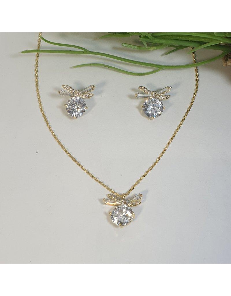CSC0026 - Gold,  Necklace Set