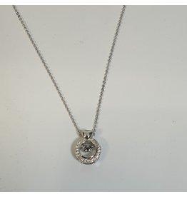 SCD0011 - Silver,  Short Necklace