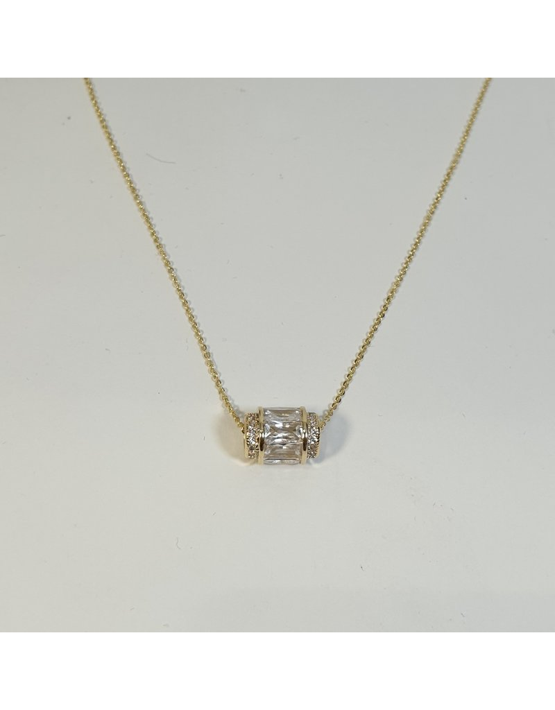 SCD0023 - Gold,  Short Necklace
