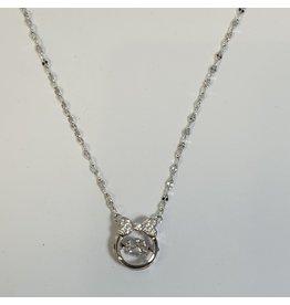 SCD0029 - Silver,  Short Necklace