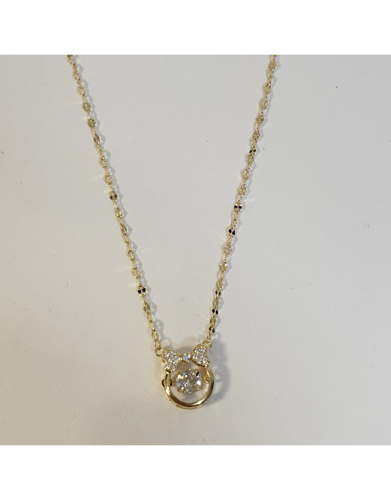 SCD0030 - Gold,  Short Necklace