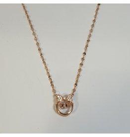 SCD0028 - Rose Gold,  Short Necklace
