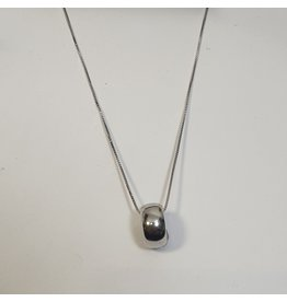 SCD0065 - Silver, Ring Short Necklace