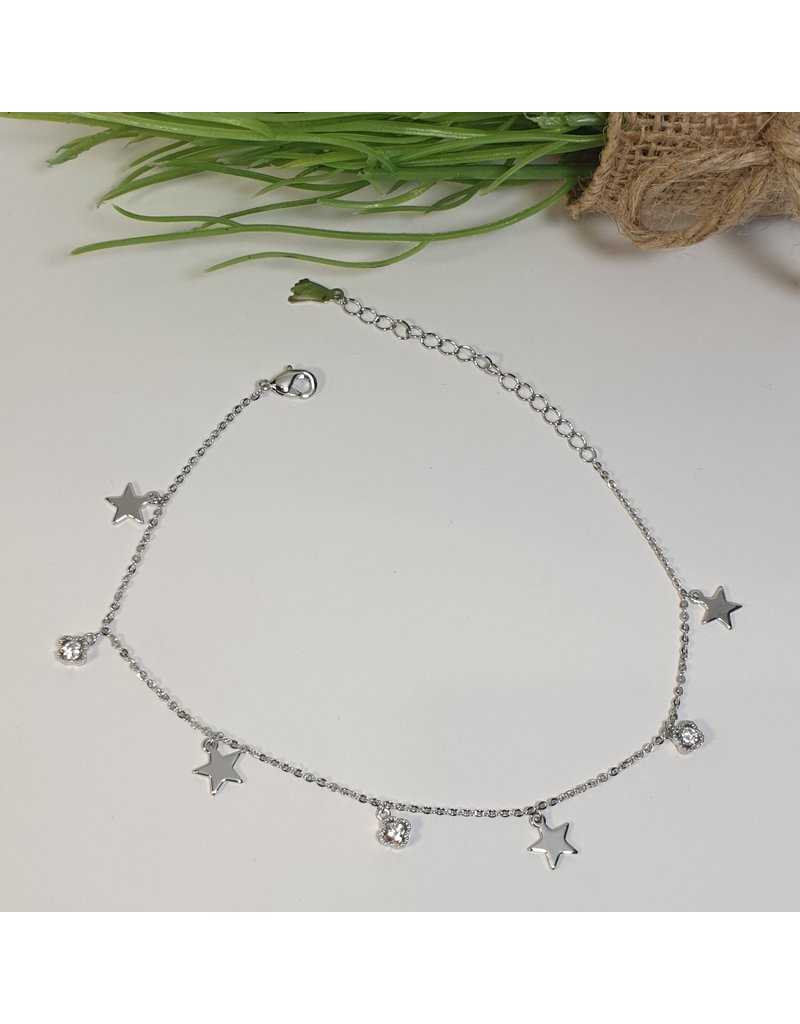 ANH0006 - Silver Anklet