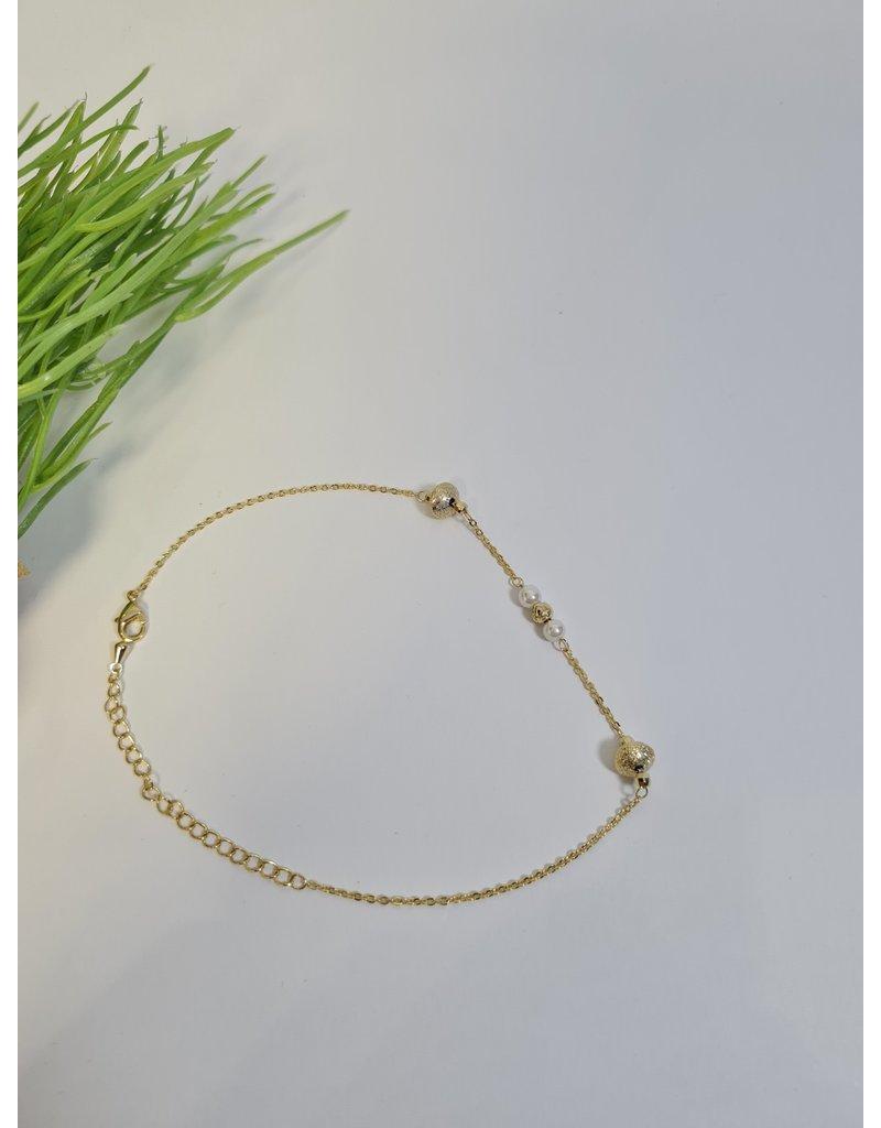 ANH0008 - Gold  Anklet