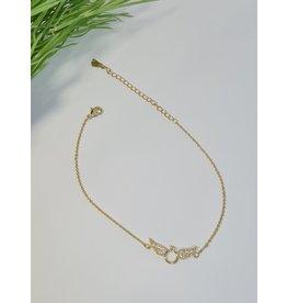 ANH0009 - Gold  Anklet