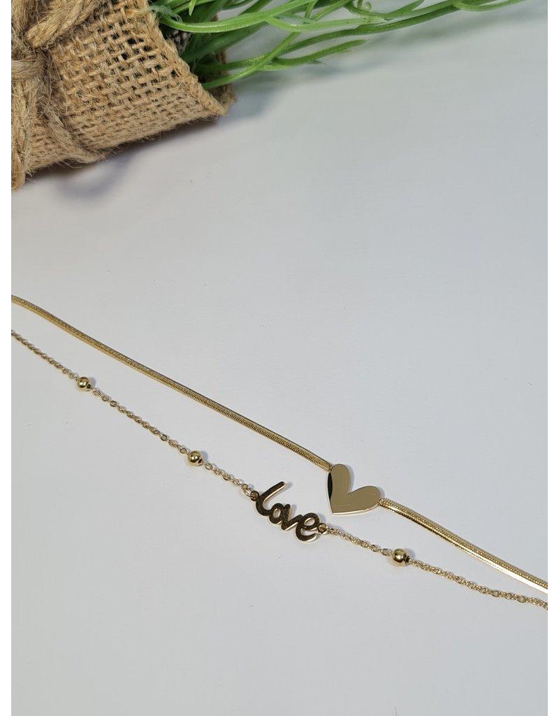 ANH0014 - Gold  Anklet