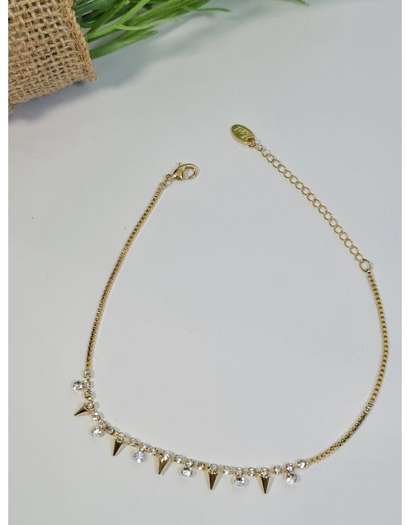 ANH0017 - Gold  Anklet