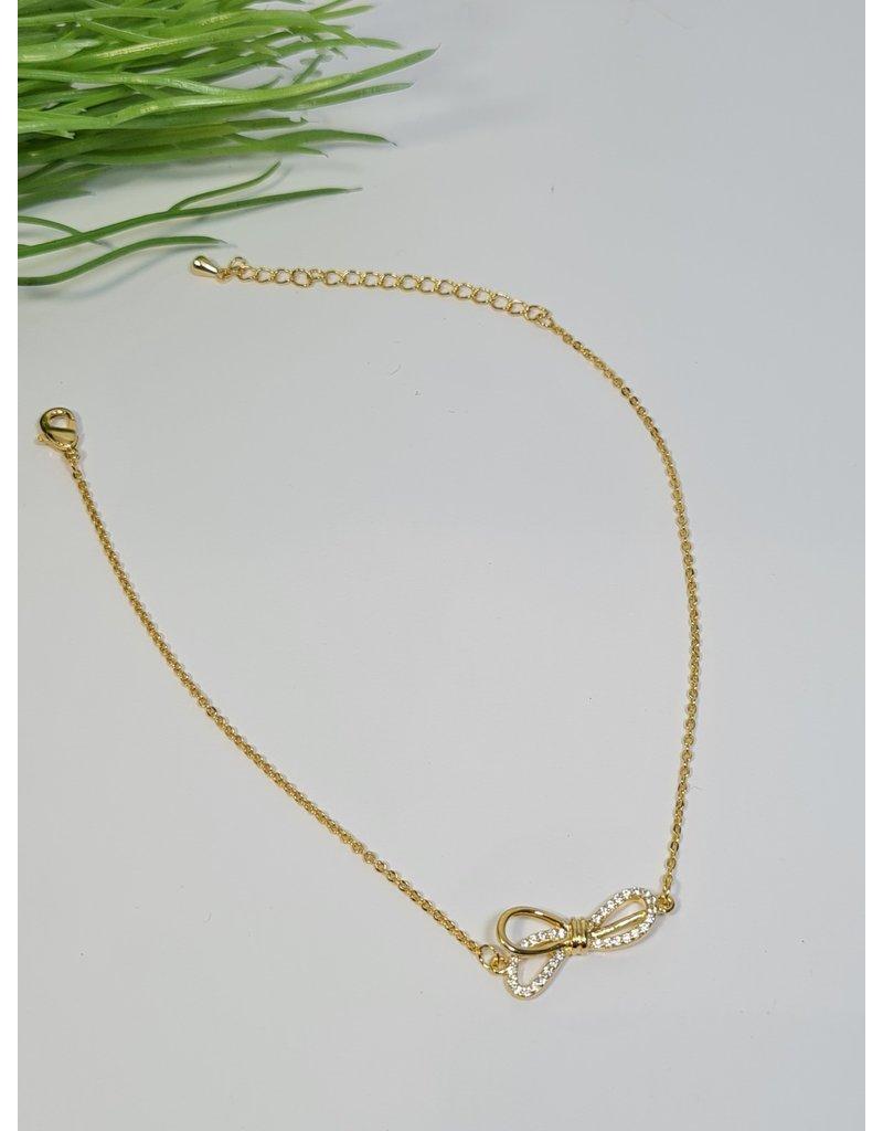 ANH0036 - Gold  Anklet