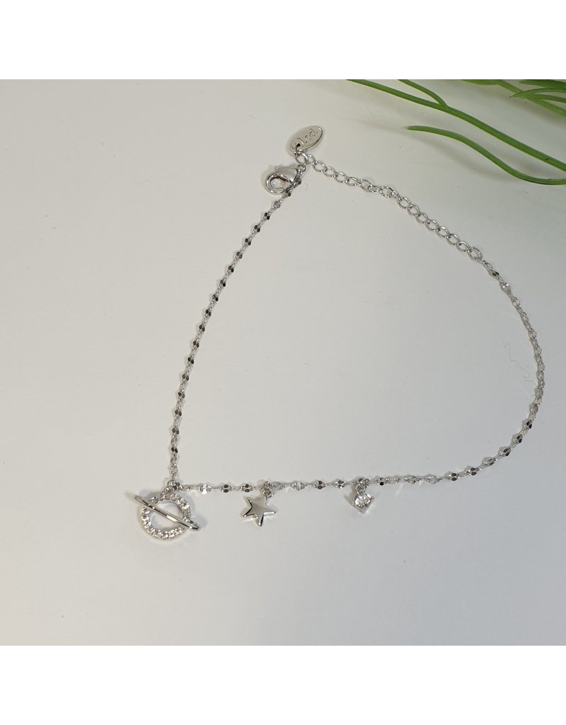 ANH0041 - Silver Anklet