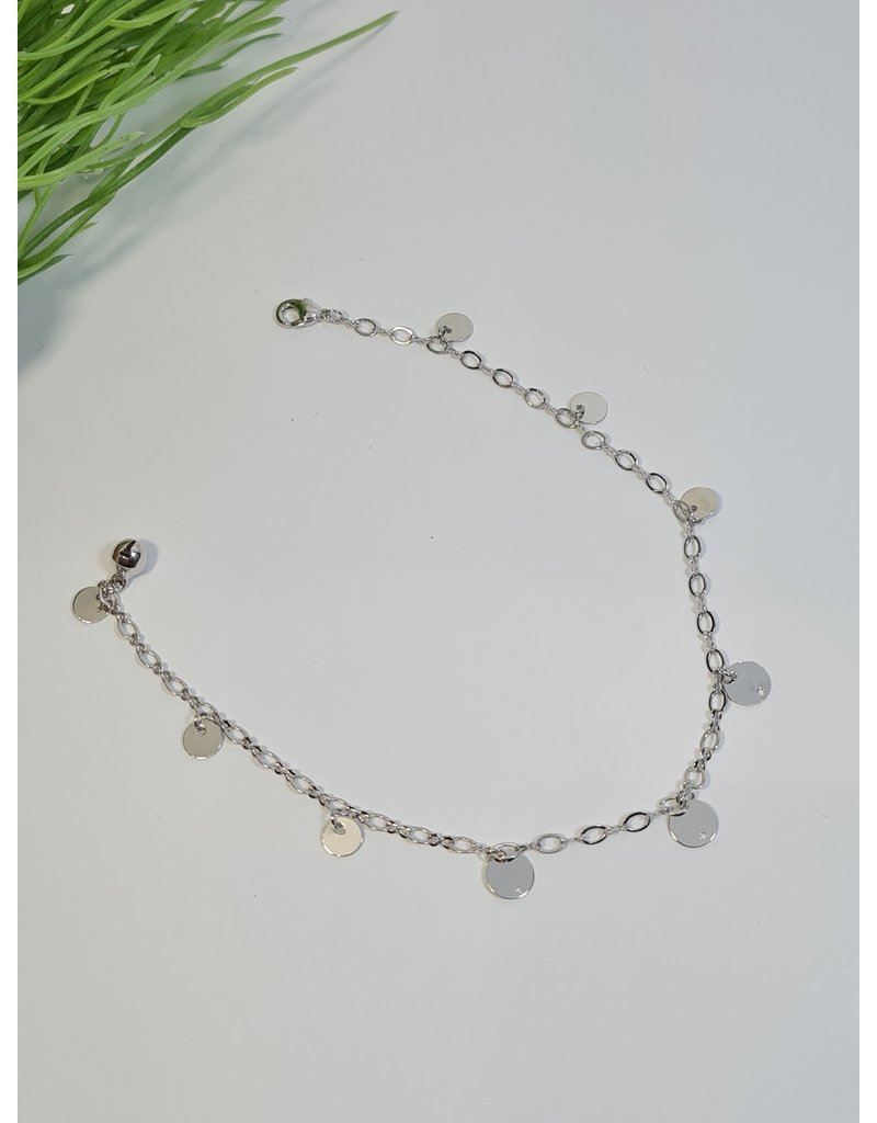 ANH0050 - Silver Anklet