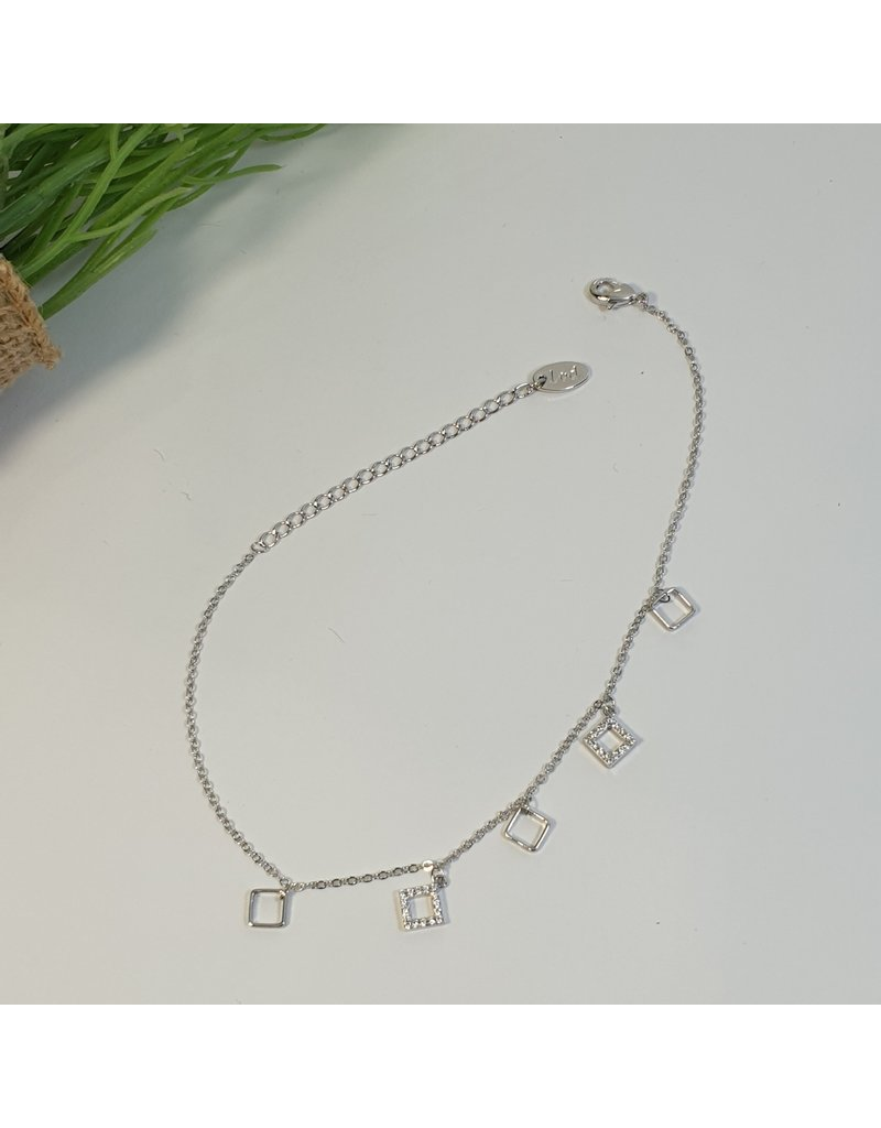 ANH0051 - Silver Anklet