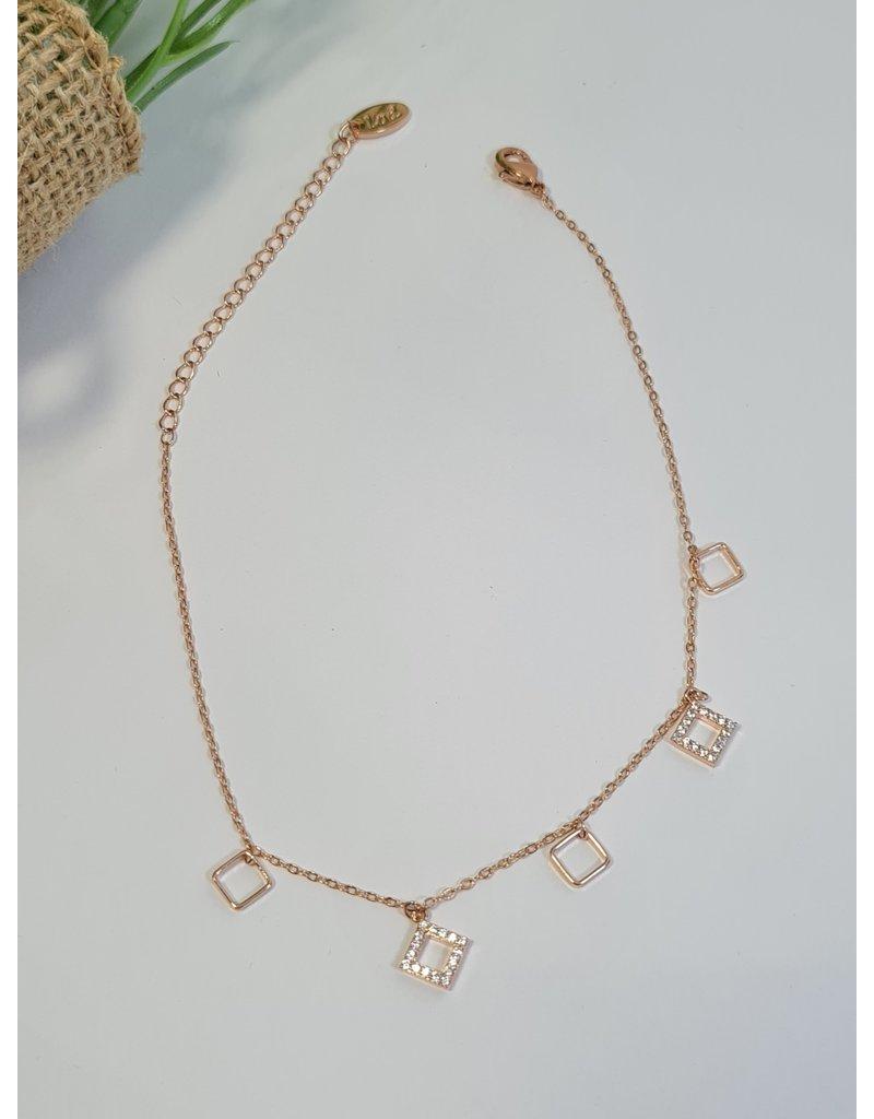 ANH0052 - Rose Gold Anklet