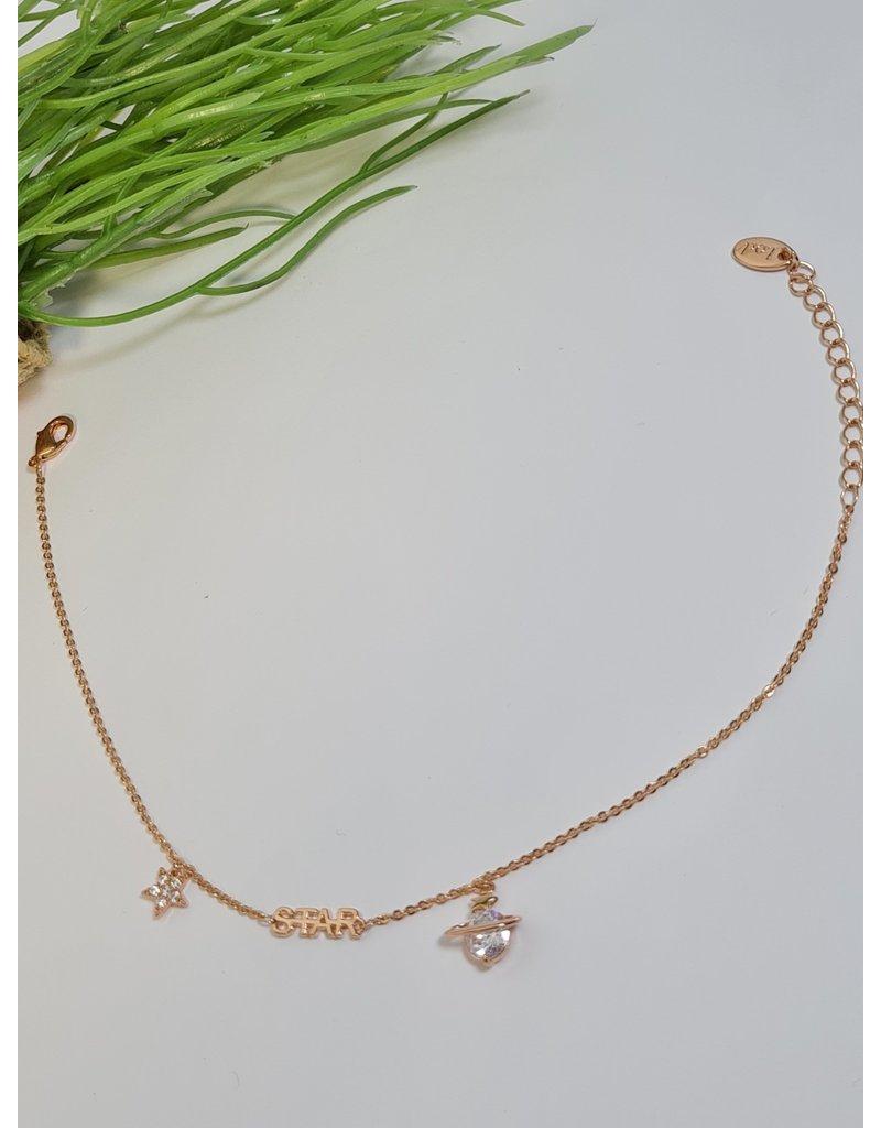 ANH0057 - Rose Gold Anklet