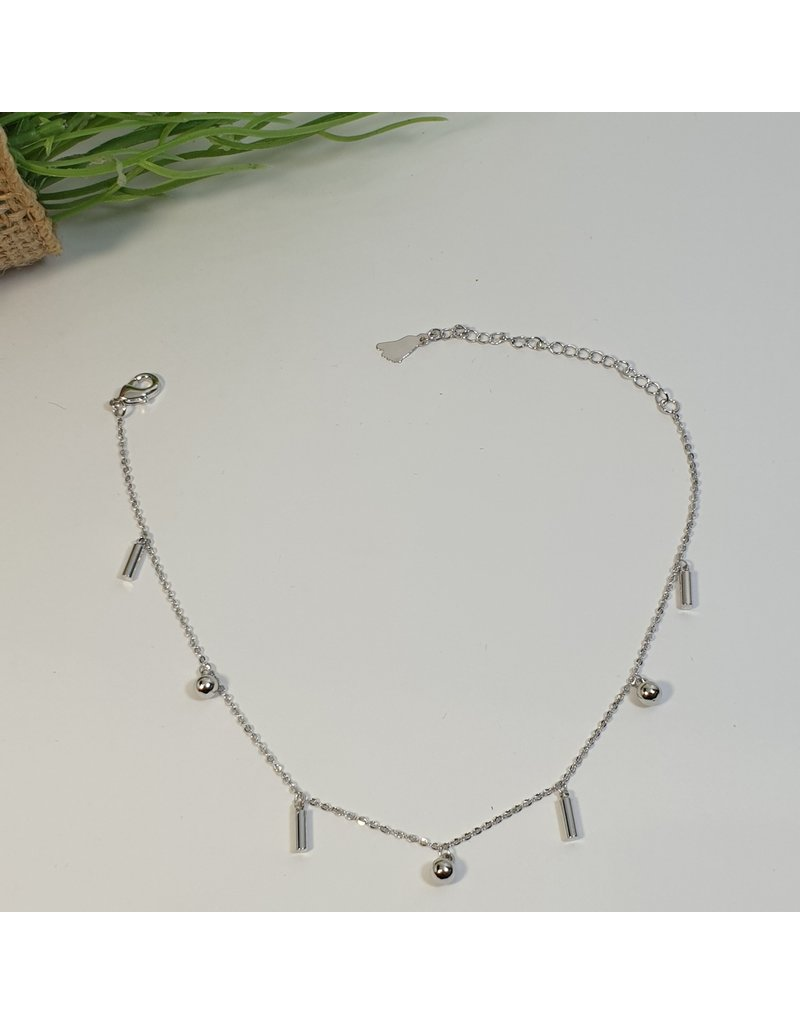 ANH0059 - Silver Anklet