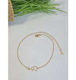ANH0064 - Gold Anklet