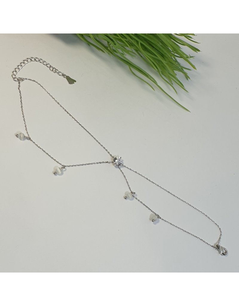 ANH0072 - Silver Anklet