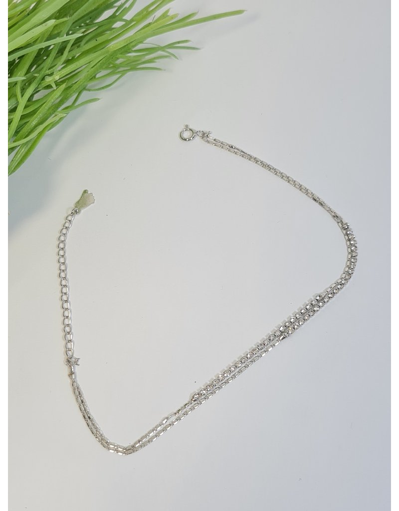 ANH0077 - Silver  Anklet
