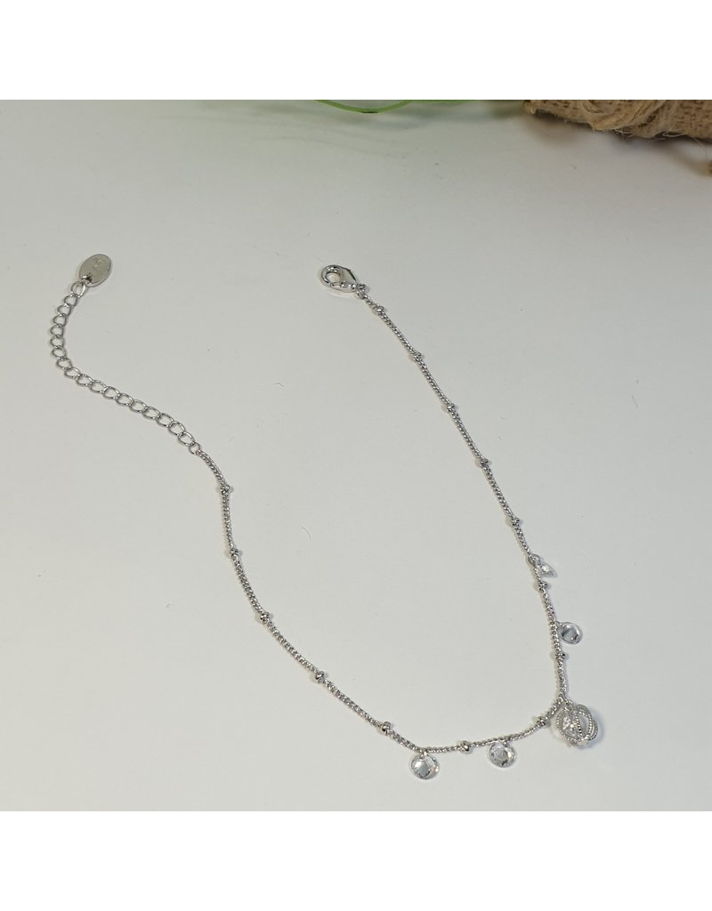 ANH0085 - Silver Anklet