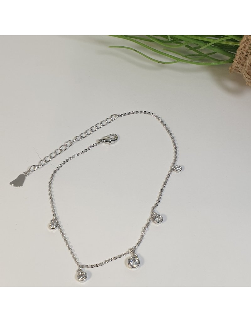 ANH0091 - Silver Anklet