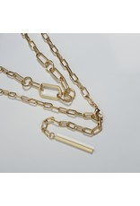 LCD0003 - Gold Multi-Layer Necklace
