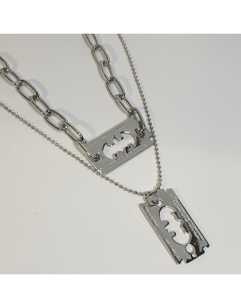 LCD0004 - Silver Multi-Layer Necklace