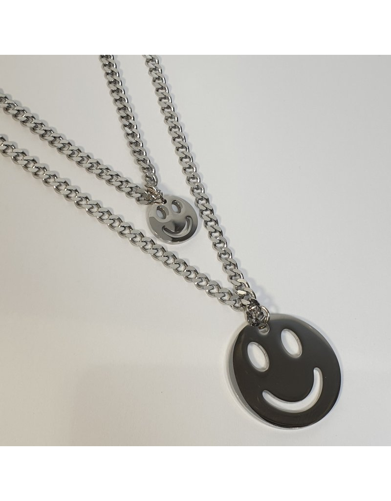 LCD0010 - Silver Multi-Layer Necklace