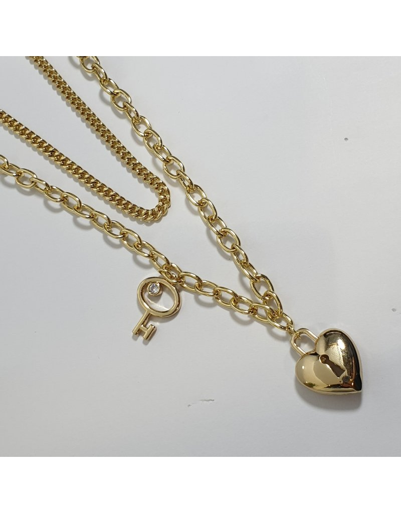 LCD0015 - Gold Multi-Layer Necklace