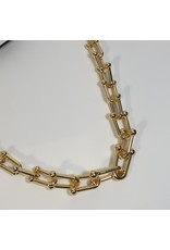 LCD0040 - Gold Multi-Layer Necklace