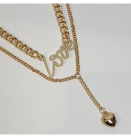 LCD0045 - Gold Multi-Layer Necklace