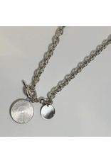 LCD0048 - Silver Multi-Layer Necklace