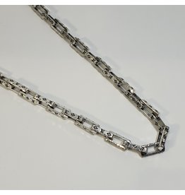 LCD0057 - Silver Multi-Layer Necklace