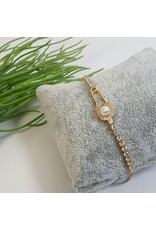 BJG0007 - Gold,  Adjustable Bracelet