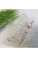 BJG0008 - Rose Gold,  Adjustable Bracelet