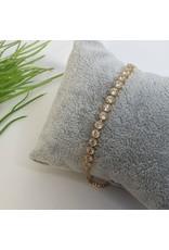 BJG0014 - Gold,  Adjustable Bracelet