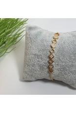 BJG0016 - Gold,  Adjustable Bracelet