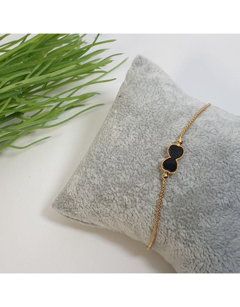 BJG0017 - Gold,  Adjustable Bracelet