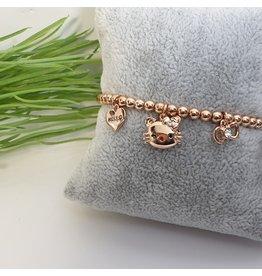 BJG0019 - Gold,  Adjustable Bracelet