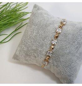 BJG0021 - Gold,  Adjustable Bracelet