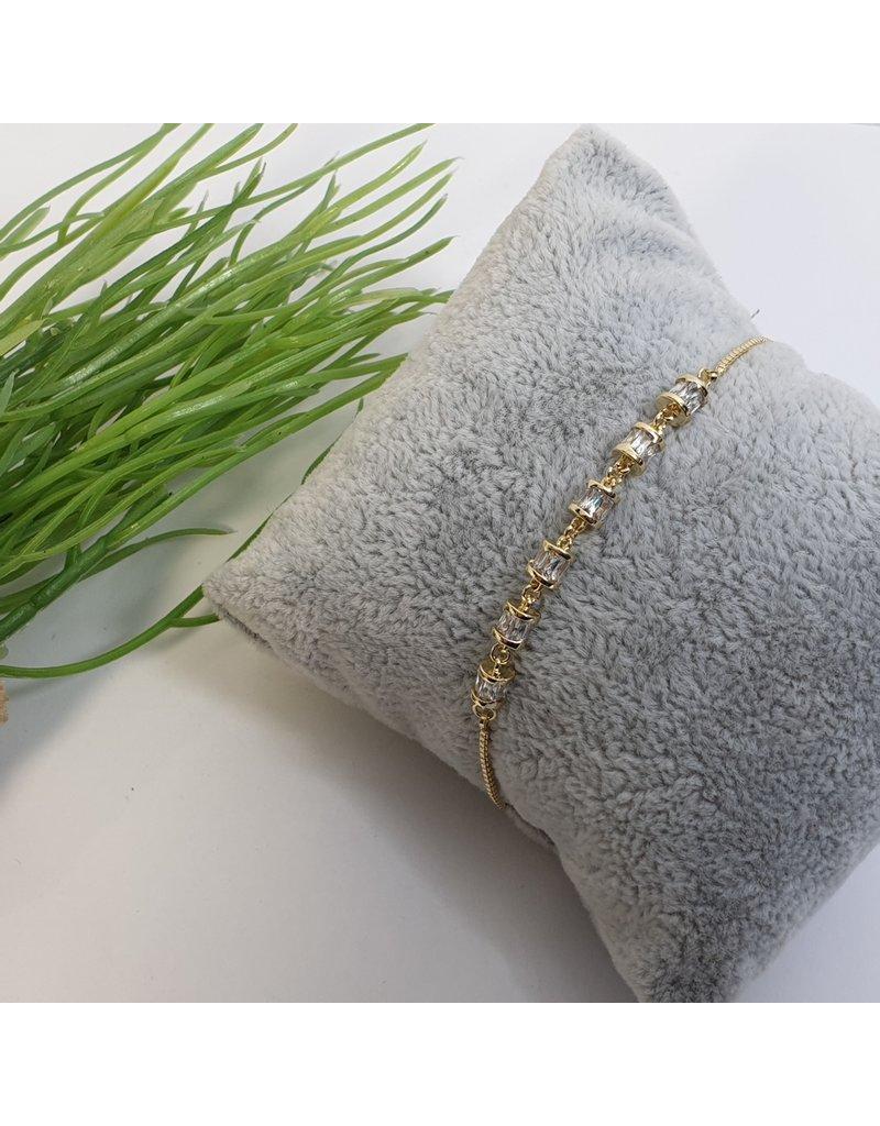 BJG0030 - Gold,  Adjustable Bracelet
