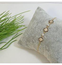 BJG0032 - Gold,  Adjustable Bracelet