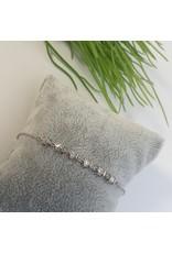BJG0031 - Silver,  Adjustable Bracelet