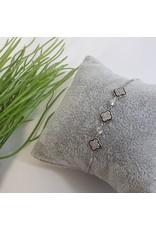 BJG0033 - Silver,  Adjustable Bracelet