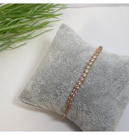 BJG0038 - Rose Gold,  Adjustable Bracelet