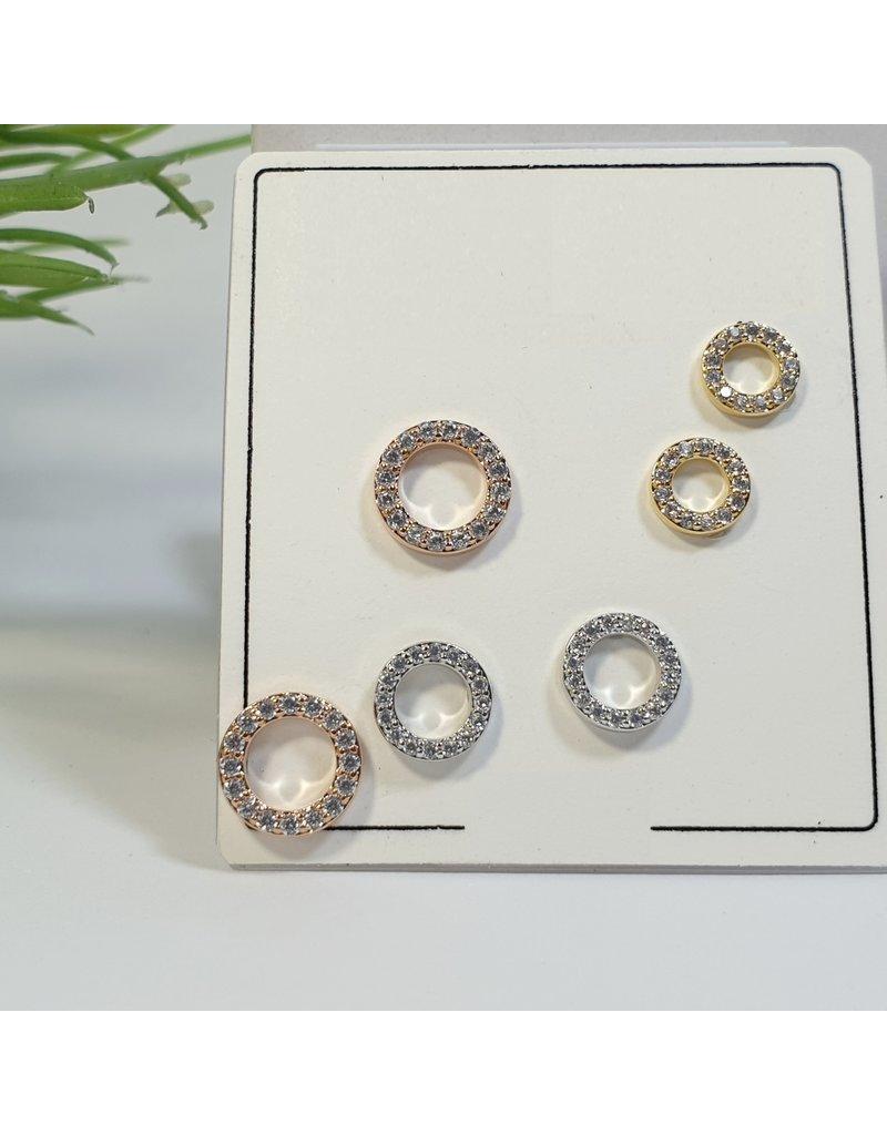 EMA0116 - Multicolour  Multi-Pack Earring