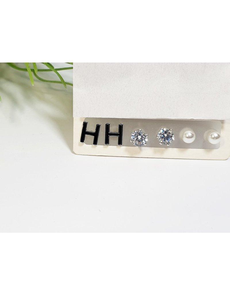 EMA0131 - Gold H  Multi-Pack Earring