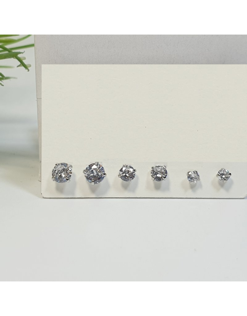 EMA0124 - Silver  Multi-Pack Earring
