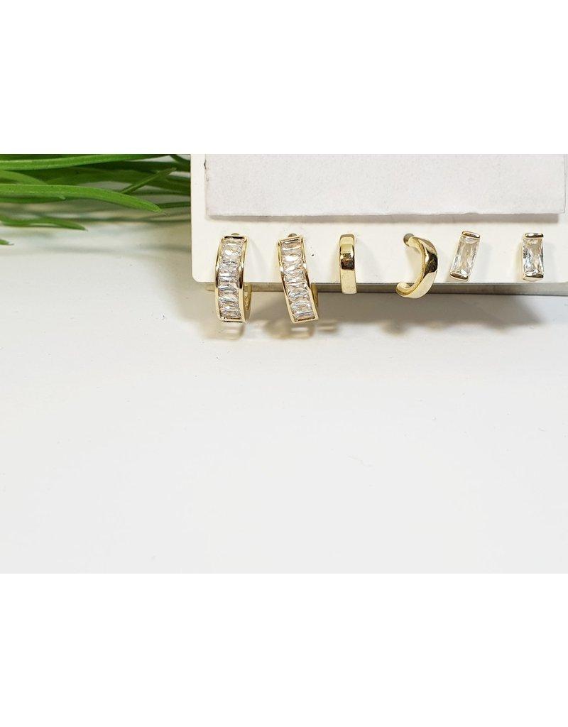 EMA0155 - Hoop  Multi-Pack Earring