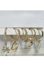 EMA0162 - Gold  Multi-Pack Earring