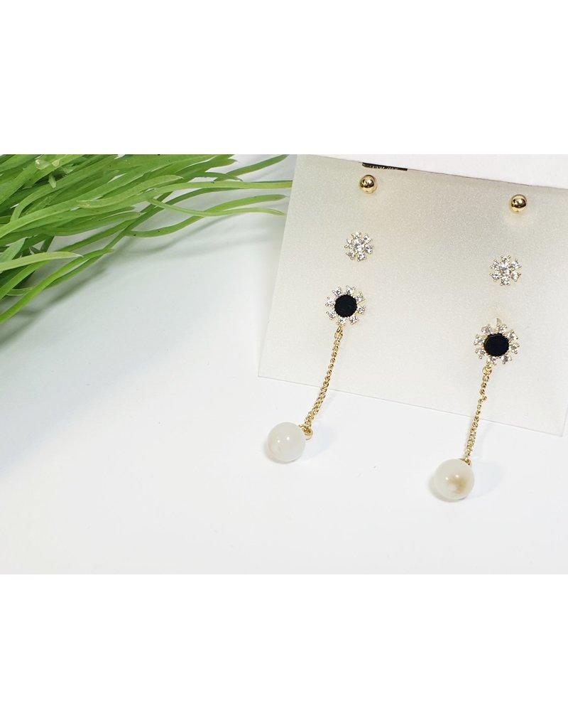 EMA0165 - Gold  Multi-Pack Earring